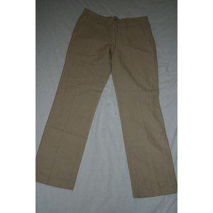 Sisley Women's Pants EU Size 50 Beige Button